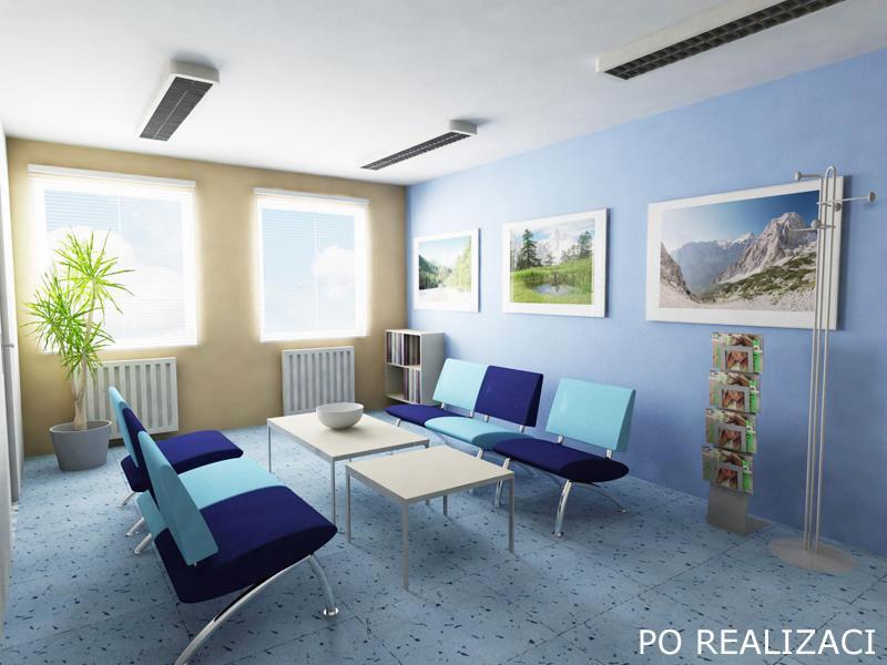 DaněkDesign - realizace Stomatologická ordinace - Bohušovice nad Ohří